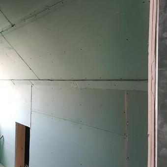 Gipso Broliai,Gipso kartono montavimas / Robertas Luksa / Darbų pavyzdys ID 453277