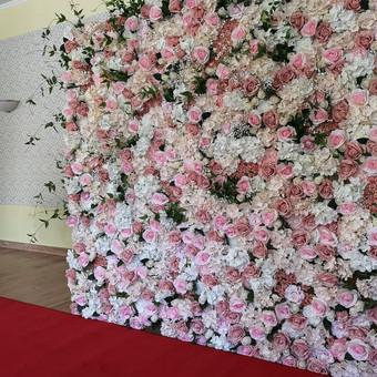 Gėlių sienos nuoma