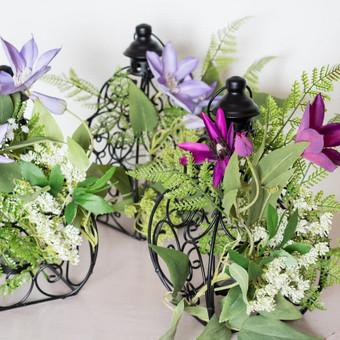 Šampano staliukas, gėlių fotosienos švenčių dekoracijų nuoma / Jurga / Darbų pavyzdys ID 453419