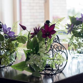 Šampano staliukas, gėlių fotosienos švenčių dekoracijų nuoma / Jurga / Darbų pavyzdys ID 453421