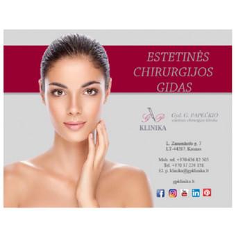 Informacinis katalogas apie estetinės chirurgijos paslaugas.