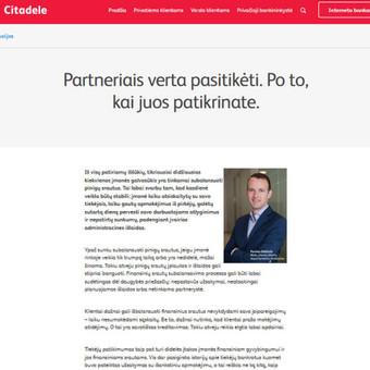 Turinio projektai verslui / Monika Žiūkaitė / Darbų pavyzdys ID 454065