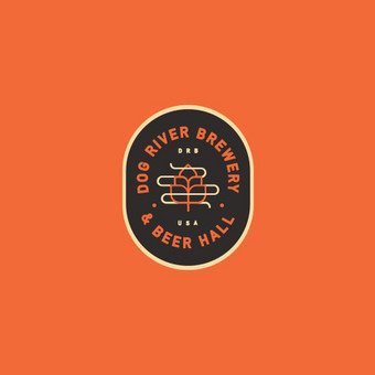 """River dog brewery"" logotipas"