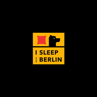 "Blogo ""I sleep with Berlin"" logotipas"