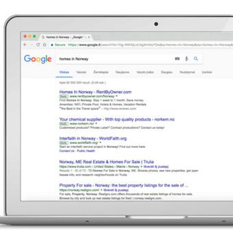 Google reklama / Google Reklama / Darbų pavyzdys ID 454925