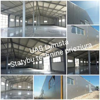 Statybos dokumentų konsultantas -statybos techninė priežiūra / UAB LUMSTA / Darbų pavyzdys ID 455711