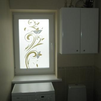 Plėvelės klijavimas, stiklo sienelės / Stiklo Spalvos / Darbų pavyzdys ID 67756