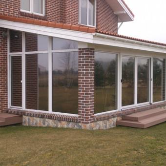 Plėvelės klijavimas, stiklo sienelės / Stiklo Spalvos / Darbų pavyzdys ID 67766
