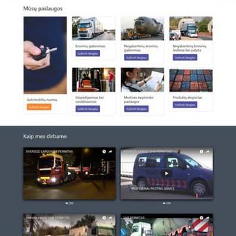 Interneto dizainas ir programavimas / Gintautas Bakūnas / Darbų pavyzdys ID 456013