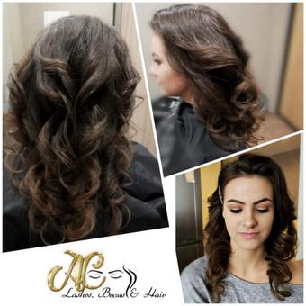 Plaukai, blakstienos, antakiai / Aldona Česevičienė / Darbų pavyzdys ID 456365