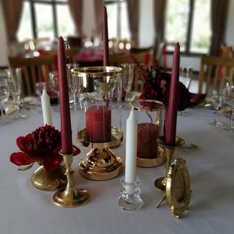 Įvairių žvakidžių nuoma. Turime daug žalvarinių antikvarinių žvakidžių įvairaus dydžio.