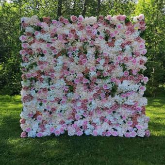 Šampano staliukas, gėlių fotosienos švenčių dekoracijų nuoma / Jurga / Darbų pavyzdys ID 456743