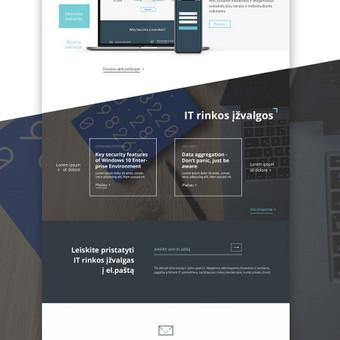 Penktadieniškai gražus web dizainas / Not Monday / Darbų pavyzdys ID 456755