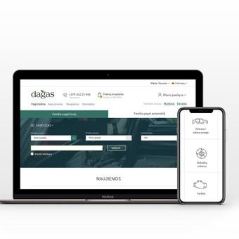 Intuityvus ir autentiškas web dizainas / Not Monday / Darbų pavyzdys ID 456929