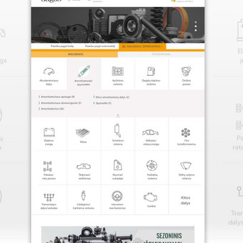 Intuityvus ir autentiškas web dizainas / Not Monday / Darbų pavyzdys ID 456951