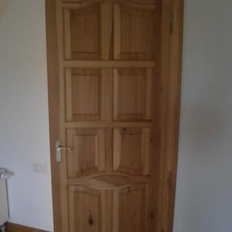 Medinių elementų kaip durys langai pirtys laiptai t t gamyba / Audrius / Darbų pavyzdys ID 452935