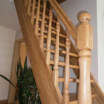 Medinių elementų kaip durys langai pirtys laiptai t t gamyba / Audrius / Darbų pavyzdys ID 452923