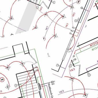 Elektros instaliacijos, san mazgų bei apšvietimo projektavimas