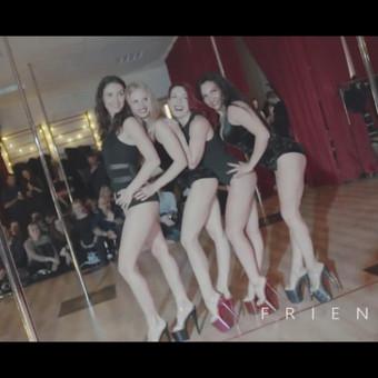 Šokiai, šokių pamokos, pole dance / Pole dance Vilnius / Darbų pavyzdys ID 457971