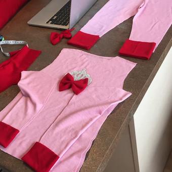 drabužių konstravimas, siuvimas / Aušrinė / Darbų pavyzdys ID 458377