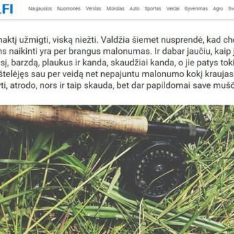 Straipsnis apie nuotykius gamtoje. www.delfi.lt/grynas/gyvenimas/inirtinga-kirsliu-zvejyba-uzvire-tikra-kova.d?id=68358990