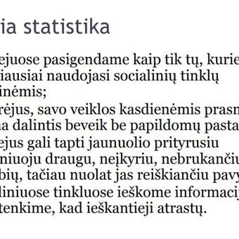 Prezentacija Lietuvos muziejams apie socialinių tinklų naudą. tinyurl.com/y7e5bes4