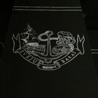 Tapytas logotipas, Žvejų baras Klaipėda