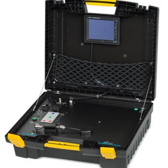Naudojame vokiška RITEC kamera 25 metru zondu su vaizdo įrašymo galimybe