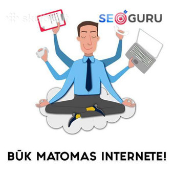 SEO/SEM Paslaugos būk lyderis savo versle! / SEO Guru / Darbų pavyzdys ID 460601