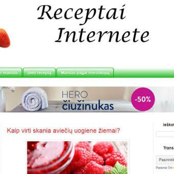 Internetinių tinklaraščių kūrimas, koregavimas / Modestas / Darbų pavyzdys ID 460953