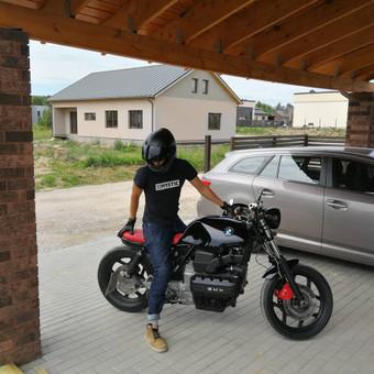 Jaunosios pavežimas motociklu / Dėl motociklo / Darbų pavyzdys ID 463135