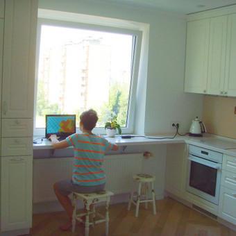 """Virtuvės baldai. Vonios baldai. Akmuo. UAB """"Forestė"""" / Dizainerė Audronė Baldai-Interjeras / Darbų pavyzdys ID 463675"""