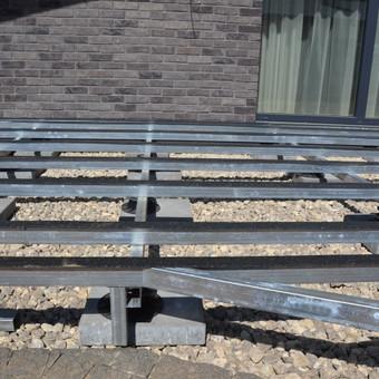 Wpc terasos montavimas, Vilniuje, Riešėje