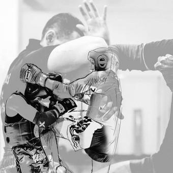 Tailandietiško bokso - MuayThai treniruotės Vilniuje. / MuayThai klubas SINOBIS / Darbų pavyzdys ID 464899