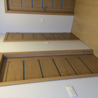 Durys, laiptai, staliu gaminiai. / Andrius Tomelis / Darbų pavyzdys ID 465523