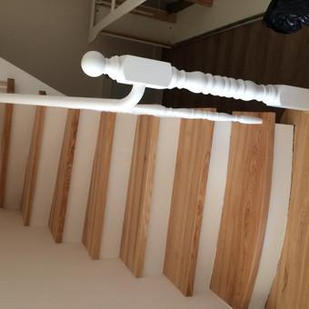 Durys, laiptai, staliu gaminiai. / Andrius Tomelis / Darbų pavyzdys ID 465545