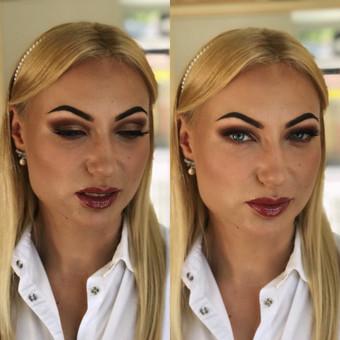 Makiažas su veido pilingu tik 30eur! / Greta Ežerskienė / Darbų pavyzdys ID 466159