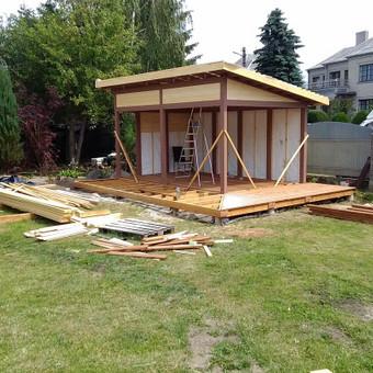 Senu mediniu namu renovacija,rekonstrukcija / Aivaras / Darbų pavyzdys ID 467057