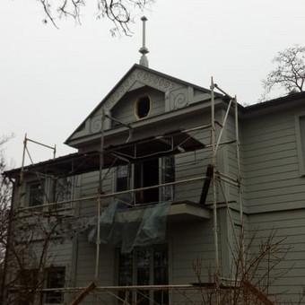 Senu mediniu namu renovacija,rekonstrukcija / Aivaras / Darbų pavyzdys ID 467073