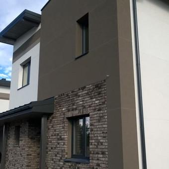 fasado šiltinimas ( renovacija )jo apdaila. / Mindaugas / Darbų pavyzdys ID 468223