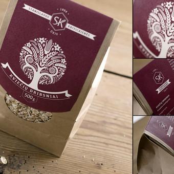 Dizaino darbai, pakuotės dizainas, brendingas / Dovilė Mikalauskaitė / Darbų pavyzdys ID 468475