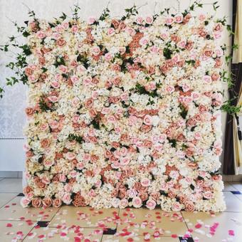 Šampano staliukas, gėlių fotosienos švenčių dekoracijų nuoma / Jurga / Darbų pavyzdys ID 469067