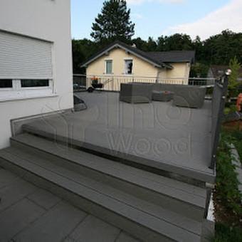 Kompozito terasa Šveicarijoje