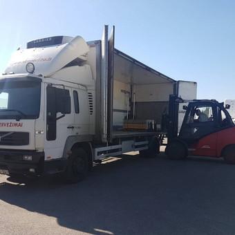 Kroviniu gabenimas,kroviniu pervezimas / Egidijus / Darbų pavyzdys ID 470465