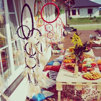 Vestuvių, švenčių dekoravimas / Made Of Senses / Darbų pavyzdys ID 69204