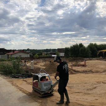 Karkasinių namų statyba. Dailidės paslaugos. / Tropa MB / Darbų pavyzdys ID 470851