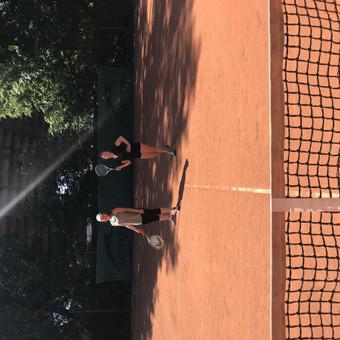Lauko teniso treniruotės Kaune / Gabrielė Butkutė / Darbų pavyzdys ID 470927