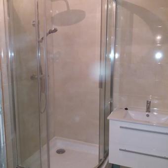 Vonios kambario renovavimas ,keičiant vamzdyną ,išplanavimą
