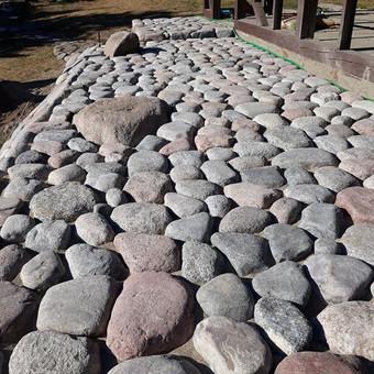 Akmens mūro darbai, Šlaitų ir pakrančių tvirtinimas.Atramine / Saulius / Darbų pavyzdys ID 471235