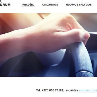 Automobilių nuoma Klaipėdoje, Palangoje / UAB Aurum Currus / Darbų pavyzdys ID 471589